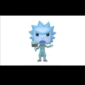 Funko- Pop! Animation Hologram Rick Clone